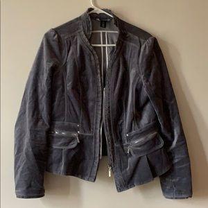 White House Black Market Velvet Jacket